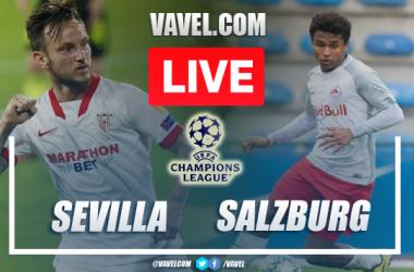 Gols e melhores momentos para Sevilla 1x1 RB Salzburg pela Champions League