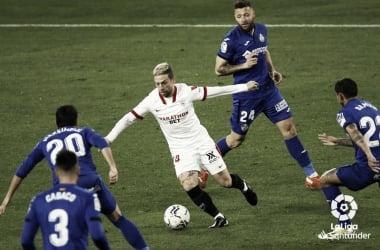 Sevilla vs Getafe, jornada 22 de LaLiga Santander // Fuente: LaLiga