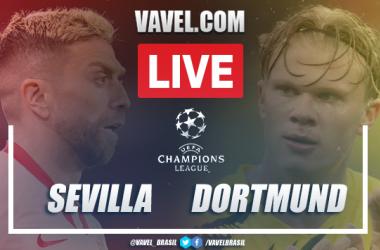 Gols e melhores momentos de Sevilla 2-3 Borussia Dortmund pela UEFA Champions League