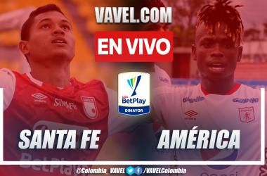 Resumen y goles: Santa Fe 1-1 América en la fecha 7 por Liga BetPlay 2021-II