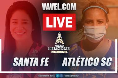 Resumen Santa Fe vs Atlético SC (4-0) en la fecha 1 por Copa Libertadores Femenina 2020