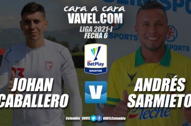 Cara a cara: Johan Caballero vs Andrés Sarmiento