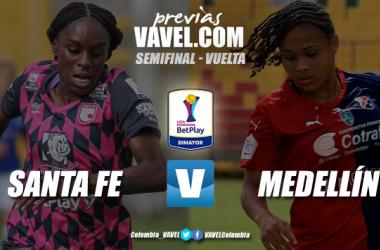 Previa Santa Fe vs. Medellín: duelo decisivo por un cupo a la final