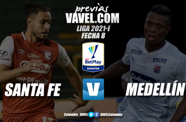 Previa Independiente Santa Fe vs. Independiente Medellín: duelo de rojos para sumar y seguir en los ocho
