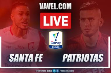 Resumen de Santa Fe vs Patriotas (1-0) por la cuarta fecha de la Liga BetPlay
