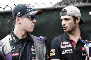Carlos Sainz siempre pensó que Daniil Kvyat volvería a la Fórmula 1