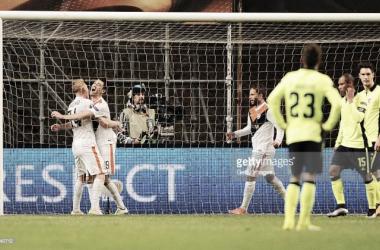 O Shakhtar soube ser mais eficaz e venceu o Braga por 1-2