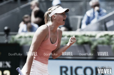Sharapova arranca arrollando a Kanepi