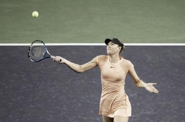 Sharapova, en el pasado Premier Mandatory de Indian Wells. Foto: zimbio
