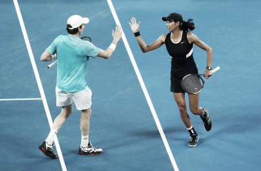 Australianos avançaram à decisão em Melbourne (Foto: Divulgação/Australian Open)