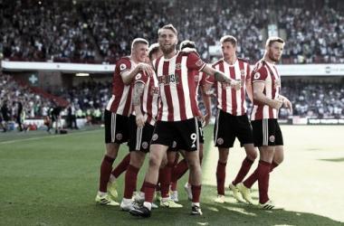 Sheffield United celebrando un gol | Fuente: PremierLeague.com