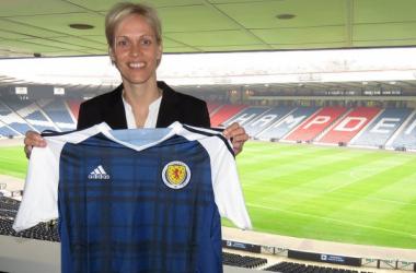 Shelly Kerr announced as new Scotland head coach