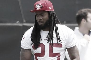 Richard Sherman (San Francisco 49ers / Divulgação)