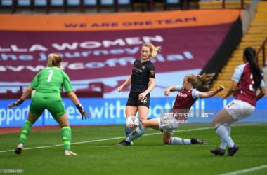 Gemma Davies proud of Aston Villa performance despite defeat in Women's Super League opener