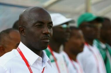 Head Coach of Nigeria U23, Samson Siasia