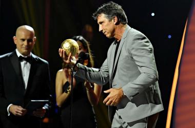 El mejor técnico de la liga según la premiación del balón de oro, dejó a los Guerreros con marca oficial en liga de 16-9-10. (Foto: Imago 7)