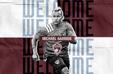 Michael Barrios se marcha a Colorado Rapids
