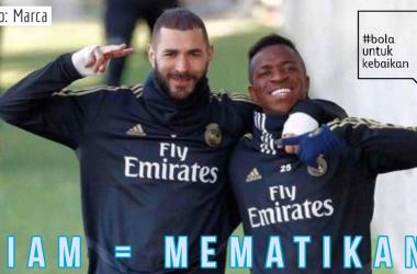 Antara Benzema, Vinicius, dan Zidane di Real Madrid