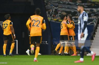 Fabio Silva now has scored four goals this season.(Photo by Shaun Botterill/Getty Images)