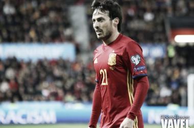 Silva iguala a Torres y Cesc con 110 internacionalidades