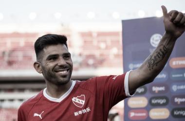 """Romero: """"A los que tienen la oportunidad de estar en Independiente aprovéchenla"""""""