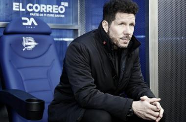 """Simeone: """"Partido malo en general, hay que mirar adelante, entrenar y mejorar"""""""