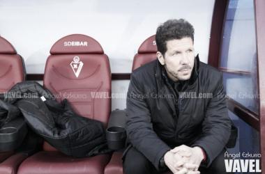 """Simeone: """"El trabajo del equipo ha sido impresionante"""""""