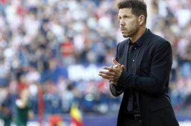 """Simeone: """"Cerci se ha ganado con esfuerzo los minutos que está teniendo"""""""
