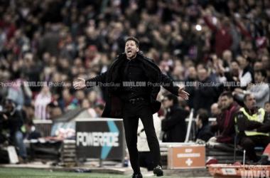 """Simeone: """"Me sentía como un hincha más, quería gritar con ellos, el Calderón es maravilloso"""""""
