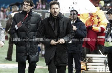"""Simeone: """"Inesperadamente somos terceros, hay que sostenerlo"""""""