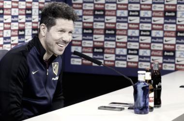 """Simeone: """"Yo, si fuera un hincha, iría al Calderón a pasarle mi energía a los jugadores"""""""
