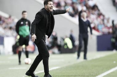Simeone ha enderezado el mal inicio en Liga. | Foto: Atlético de Madrid