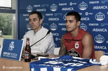 """David Simón: """"En Las Palmas creo que merecía más oportunidades y aquí vengo a buscarlas"""""""