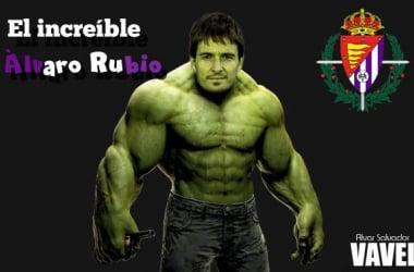 El increíble Álvaro Rubio. (Fotomontaje: Alvar Salvador | VAVEL).
