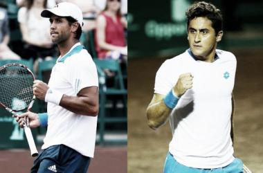 Nico Almagro y Fernando Verdasco se disputarán el título sobre el polvo de ladrillo de Houston. (Fuente: @mensclaycourt)