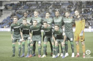 Once del Betis ante la Real Sociedad | Fotografía: LaLiga Santander