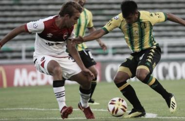 Ùltimo encuentro disputado entre Newell's y Aldosivi en Mar del Plata.