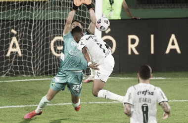 El gol de Rony para Palmeiras Foto: Clarín