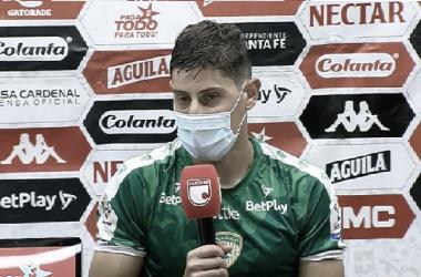 Rueda de prensa Pablo Lima. Foto tomada de: Youtube Dimayor