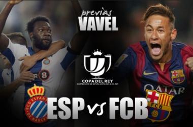 RCD Espanyol - FC Barcelona: eliminatoria con los azulgrana favoritos