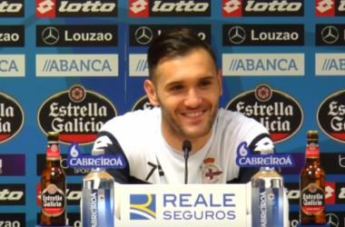"""Lucas: """"Si conseguimos los puntos del año pasado a estas alturas es porque vamos por buen camino"""""""