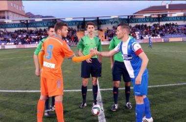 El Alcoyano devuelve a la realidad al Valencia Mestalla