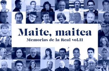 Segundo volumen de 'Beti, beti, maite - Memorias de la Real'. Foto:Xabier RodríguezyBeñat Sanz