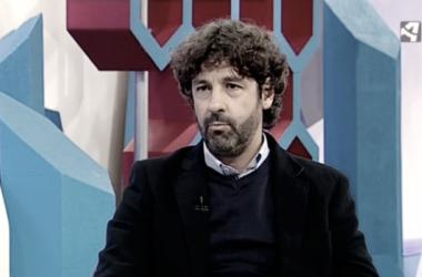 Imagen durante la entrevista de Emilio Vega en Aragón Televisión