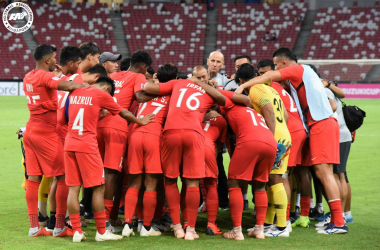 Lions look to make a splash in KL (Photo credit: Football Association of Singapore)