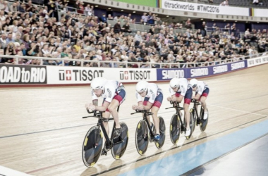 Rio 2016: Can Great Britain's cyclists repeat their London 2012 success on the track? (Image: Simon Wilkinson/SWpix.com)