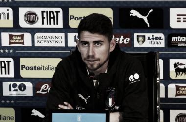 """Jorginho: """"Mancini nos está aportando una identidad como equipo"""""""
