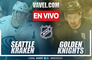 Resumen y goles: Kraken 3-4 Golden Knights en NHL 2021-2022