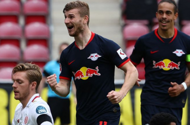 Perfect Timo Werner Leads RB Leipzig Past Mainz With Crowd Noise Enhancing Broadcast