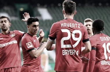 Bayer Leverkusen hunde al Werder Bremen en el descenso